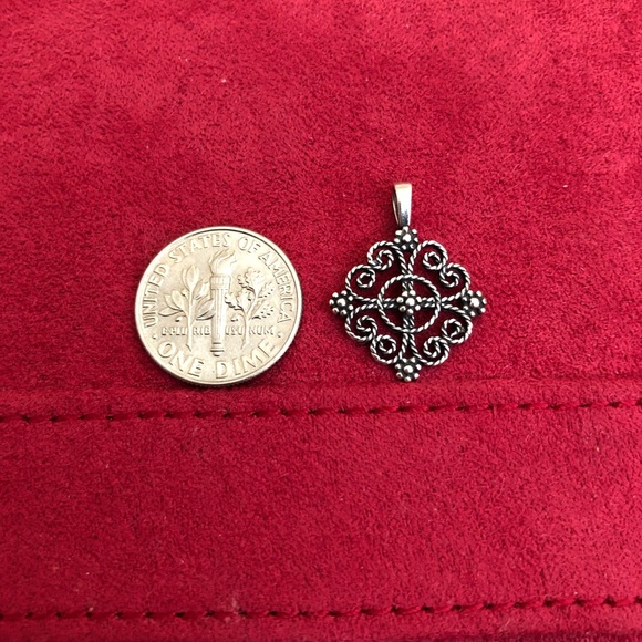 James Avery Jewelry - Retired James Avery Twisted Wire Cross Pendant